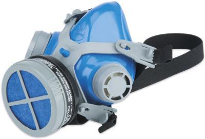 Informações do produto Descrição do Modelo: Respirador ¼ Facial Mastt 2001 Filtro Químico VO Filtro Mecânico P2 azul
